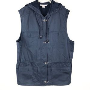 Jones NY, Navy Blue Outdoor  Vest M